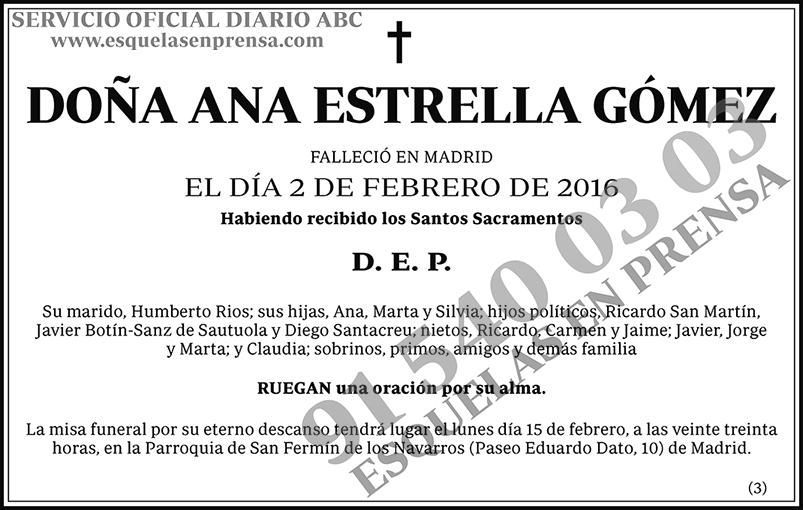Ana Estrella Gómez